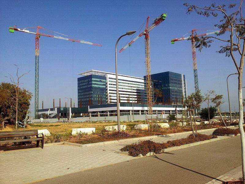 Image: Headquarters of Sapiens in Holon, Israel. Photo: courtesy of Elvenking89/Wikipedia.org.