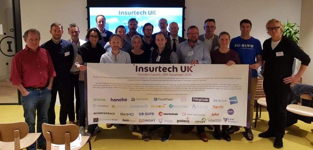 UK insurtech startups launch representative group