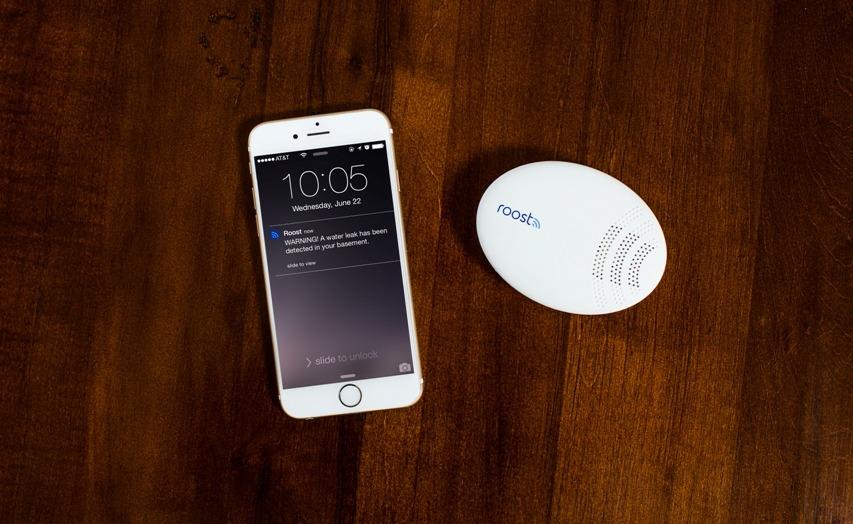 Roost Smart Water and Freeze Detector and Smartphone-alertscreen