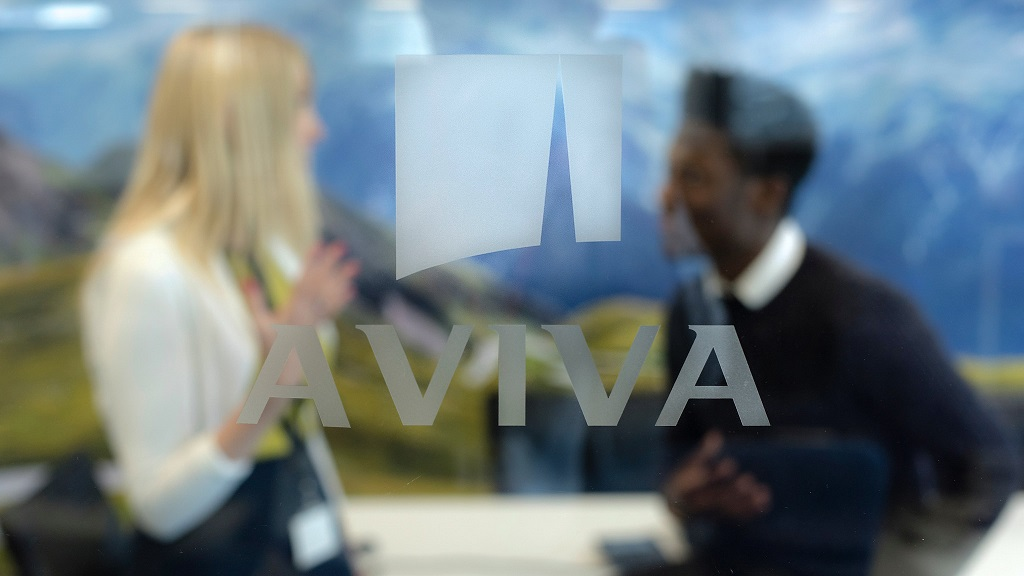 Aviva glass door