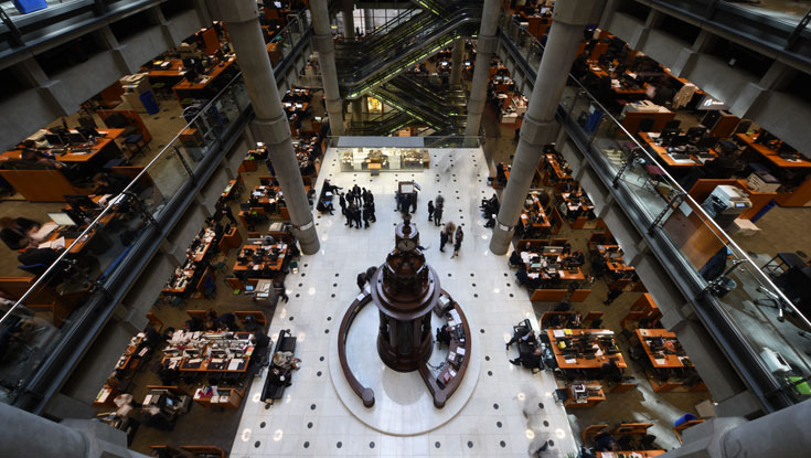 Lloyd's of London insurance market to trial new electronic risk exchange