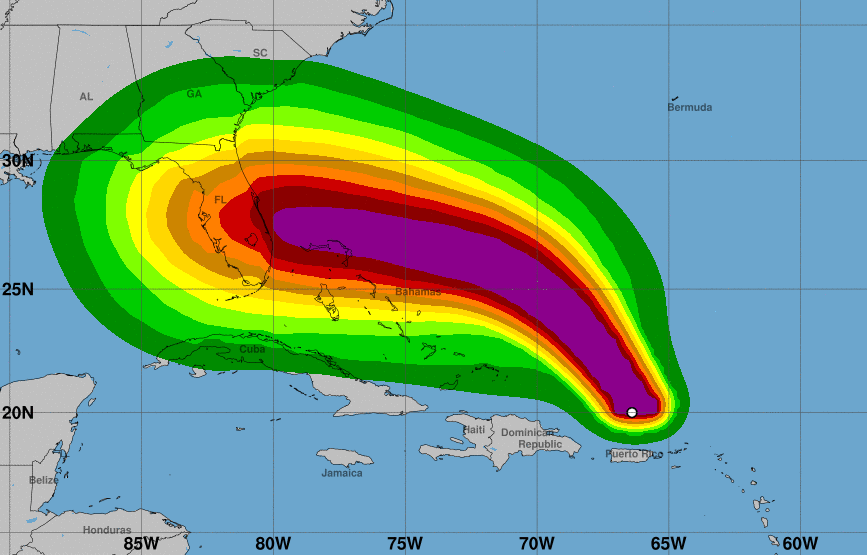 Insurance warnings issued by companies as Hurricane Dorian approaches US coast