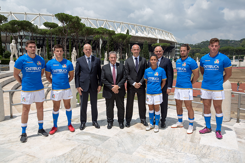 What is Cattolica Assicurazioni? The main sponsor of the Italian Rugby Federation